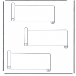 Todos os tipos de - 3 rolos de papel