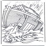 Pinturas bibel - A arca de Noé 2