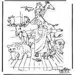 Pinturas bibel - A arca de Noé 3