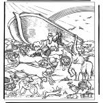 Pinturas bibel - A arca de Noé 4