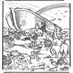 Pinturas bibel - A arca de Noé 5