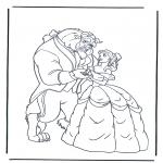 Personagens de banda desenhada - A Bela e a Fera 1