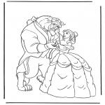Personagens de banda desenhada - A Bela e a Fera 3