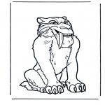 Personagens de banda desenhada - A Idade do Gelo 1
