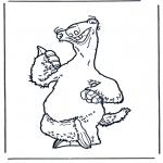 Personagens de banda desenhada - A Idade do Gelo 5