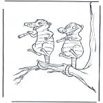 Personagens de banda desenhada - A Idade do Gelo 6