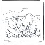 Personagens de banda desenhada - A Idade do Gelo 9