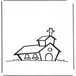 Pinturas bibel - A igreja 1