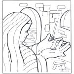 Pinturas bibel - A moeda da viúva