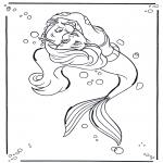 Personagens de banda desenhada - A pequena sereia 1