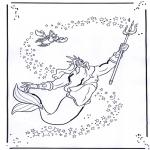 Personagens de banda desenhada - A pequena sereia 2