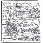 Pinturas bibel - A Terra Nova 1