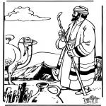 Pinturas bibel - Abraão e Sara