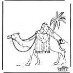 Pinturas bibel - Abraão no Egipto