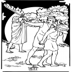 Pinturas bibel - Adão e Eva