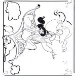 Personagens de banda desenhada - Aladino 1