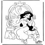 Personagens de banda desenhada - Aladino 7
