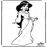 Personagens de banda desenhada - Aladino 9