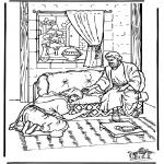 Pinturas bibel - Ananias