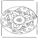 Pinturas Mandala - Anão mandala