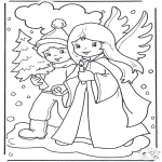 Inverno - Andando na neve