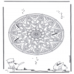 Pinturas Mandala - Animal mandala 2