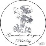 Tema - Aniversário da avó