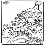 Tema - Aniversário de Dora