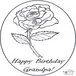 Tema - Aniversário do avô