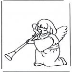 Pinturas bibel - Anjo