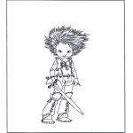 Personagens de banda desenhada - Artur e os Minimeus 3