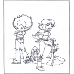 Personagens de banda desenhada - Artur e os Minimeus 4