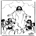Pinturas bibel - Ascensão de Jesus 1