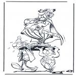 Personagens de banda desenhada - Asterix 4
