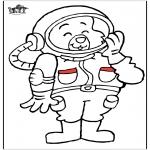 Todos os tipos de - Astronauta gato