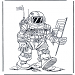 Todos os tipos de - Astronauta