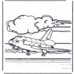 Todos os tipos de - Aterragem do vai-vem espacial