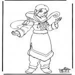 Personagens de banda desenhada - Avatar 2