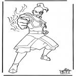 Personagens de banda desenhada - Avatar 4