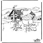 Inverno - Babar no Inverno