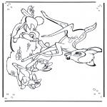 Personagens de banda desenhada - Bambi 1