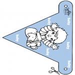Tema - Bandeira bebé 2