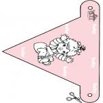 Tema - Bandeira bebé 3