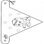 Tema - Bandeira bebé 4