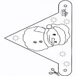 Ofícios - Bandeira - boneco de neve 2