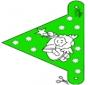 Bandeira de decoração Natal 10