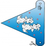 Tema - Bandeira de São Valentim 3