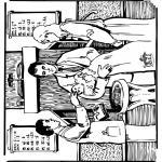 Pinturas bibel - Baptismo Bíblico 1