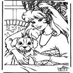 Personagens de banda desenhada - Barbie 10