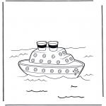 Todos os tipos de - Barco a vapor